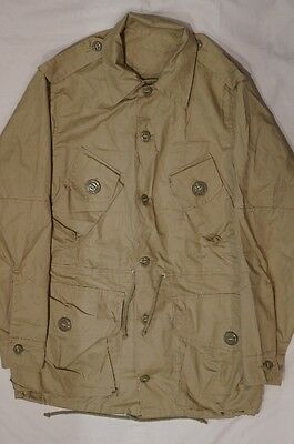 Canadian Forces Somalia 1992 Type D 7038 MKII Tan Combat Shirt Lightweight Coat