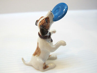 Handicraft Miniatures Collectible Ceramic Jack Russell Dog Breed FIGURINE