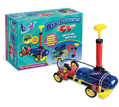 Trends UK Air Powered Car Construction Kit Science Toy for Kids Aged 8 and Above