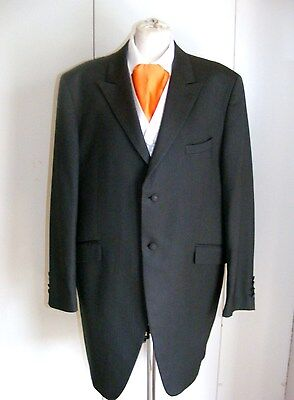 Wilvorst slate grey pinstripe frockcoat Prince Edward wedding wear formal wear
