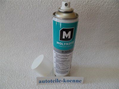 1x 400ml Molykote D-321R AFC Anti-Friction Coating Spray Trockenschmiermittel