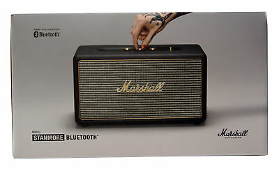 Marshall Stanmore 80W Portable Bluetooth Speaker w/ RCA & Aux In Black 04091627