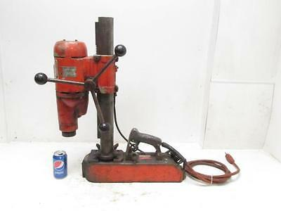"1-1/4"" HD Black & Decker 1554 Mag Electro Magnetic Base Drill Press 2 Speed"