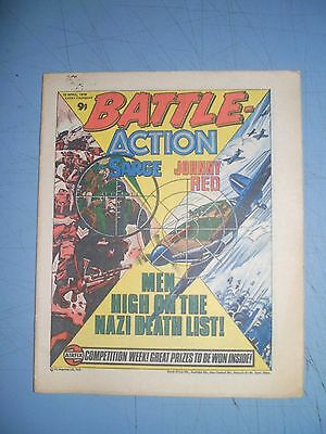 Battle Action issue dated April 15 1978