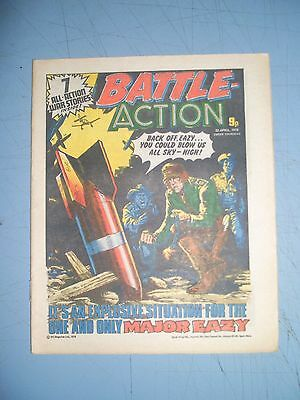 Battle Action issue dated April 22 1978