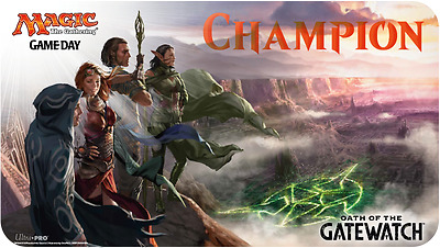 MAGIC MTG ULTRA PRO PLAYMAT Champion Oath of the Gatewatch NEW