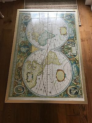 Map Of The World Table