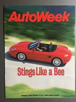 1999 Porsche Boxster S Autoweek Reprint Showroom Advertising Sales Brochure RARE