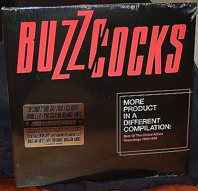 Buzzcocks More Product In A Different Compilation 2Lp Orange Vinyl Rsd16