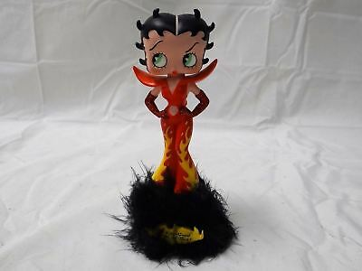 "Betty Boop Angel And Devil Bobbers 2001 7"" Bobblehead Collectible In Boxes Rare!"