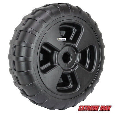 "Extreme Max 3005.3729 24"" Heavy-Duty Plastic Roll-In Dock / Boat Lift Wheel"