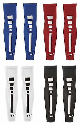 Pair of Sleeves Cover Arms NIKE Pro Elite Sleeves Basketball Running Volleyball