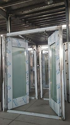 8' Double Stainless Steel Entry Doors Made Of 304 Stainless/ Open Inward