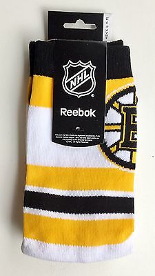 Boston Bruins NHL Ice Hockey Reebok Men's Socks