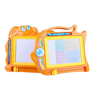 Magnetic Drawing Board Sketch Pad Doodle Writing Craft Art for Children Kids EP