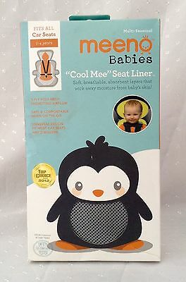 Meeno Babies Cool Mee Seat Liner Quick Silver New In Box