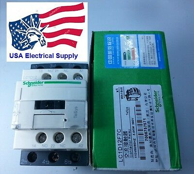 New Schneider LC1D09F7C Contactor With Coil 110VAC
