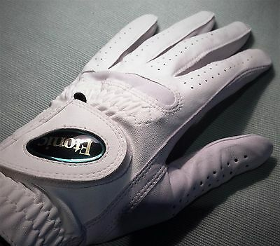 """Real"" CABRETTA LEATHER White Ladies Medium Golf Glove, BEST VALUE on eBay!"