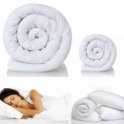 All Seasons 100% Corovin Duvets/Quilts 4.5, 10.5, 13.5 and 15 Togs All Sizes(73)