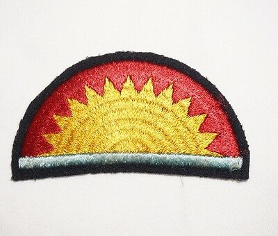 41st Infantry Division Wool Patch WWII US Army P1309
