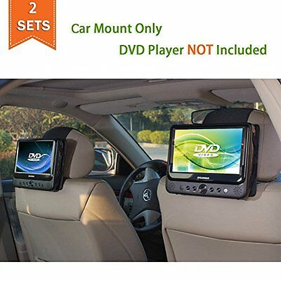 Car Headrest Mount Holder for Portable DVD Player Outdoor Back Seat Strap 2pc s