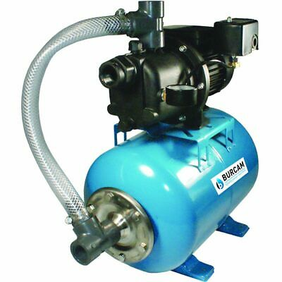 Burcam Pumps 506227P - 18 GPM 3/4 HP Thermoplastic Shallow Well Jet Pump w/ 7...