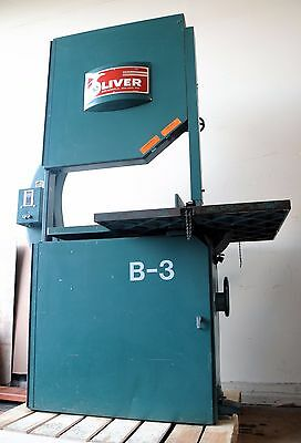 """Oliver Machinery 36"""" Band Saw, Model 2416, w/ Blade, FREE FREIGHT, Excellent"""