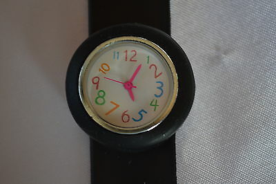 Childrens Slap Watch - coloured numbers - Girls or Boys