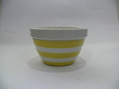 Vintage T.g. Green & Co Cornish Ware Yellow Mixing Bowl