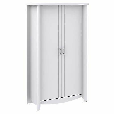 Bush MY16197-03 Aero Tall Storage Cabinet with Doors