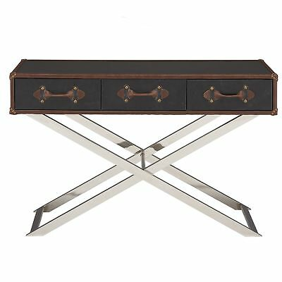 Leif & Starr 502-384GY Esquire Console Table Grey