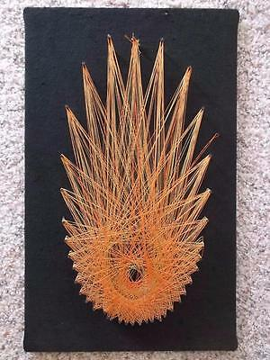 VINTAGE Mid Century STRING ART Mod Retro 70's Wall Art