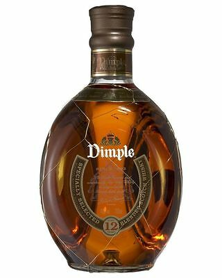 Dimple 12 Year Old Scotch Whisky Blended Whiskey 700Ml
