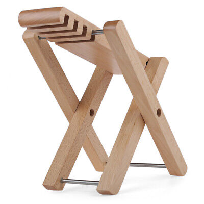 Folding Wooden Guitar Footstool Foot Rest for Flamenco Acoustic Electric Players