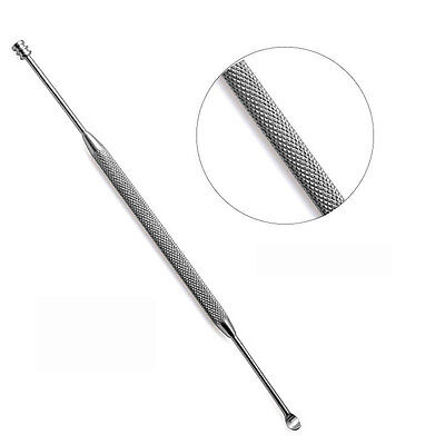 New Double-ended Stainless Steel Spiral Ear Pick Spoon Ear Ear Care Wax Removal