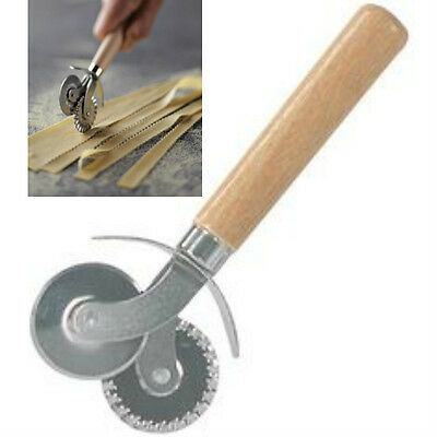 Double Blade Pasta & Pastry Cutter Wheel Roller Ravioli