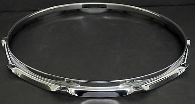 Heavy 2.3mm Bottom Snare Drum Hoop, 10-Hole, Excellent Condition (Reso/Resonant)