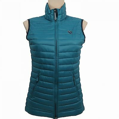 CHERVO Golf Ladies Quilted Vest PRO THERM Epico petrol 699 Gr. 36 new