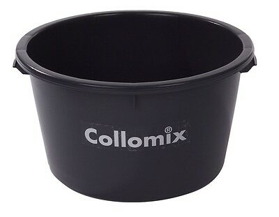 65 Litre, Heavy duty Plastic Mixing Bucket with Metal Handle, Made in Germany.