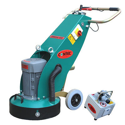 OMEGA 450,  HEAVY DUTY, 3Phase, 5.5kW, CONCRETE FLOOR GRINDER- MADE IN GERMANY