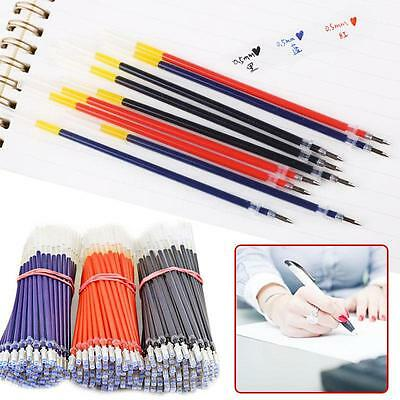10x 0.5mm Fine Tip Refills Gel Ink Pen Roller Ball Erasable For Pilot Frixion!