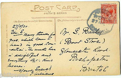POUGHILL 27.8.20 Bude Cornwall Village Rubber Postmark [Ref P20