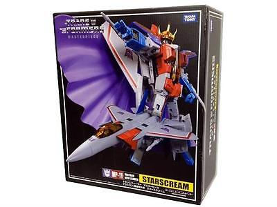 100% Takara Transformers G1 Masterpiece MP-11 Decepticon Starscream Reissue a
