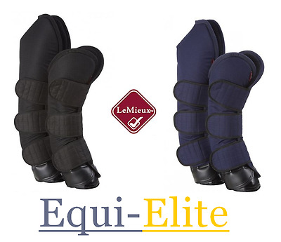 LeMieux Travel Boots - Strong Protection Ballistic Nylon Outer & Fleece Lining