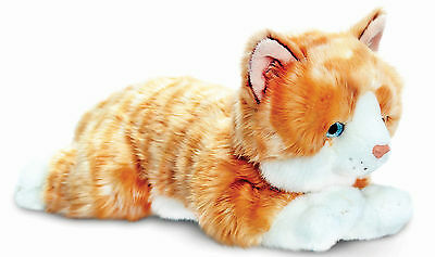 Keel Toys Amber Ginger Cat Baby Toddler Kids Animal Soft Toy Gift Nursery BNWT