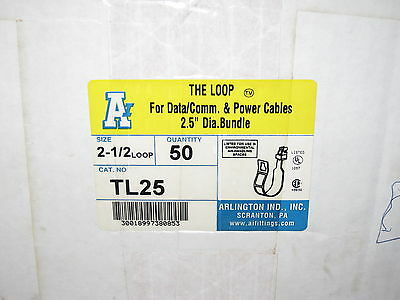 "Arlington The Loop Cable Support Hanger TL25 - 2.5"" - Box of 50"