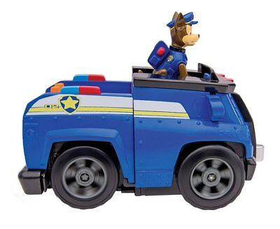 Paw Patrol Chase's Deluxe Cruiser with Sounds - On a Roll Chase