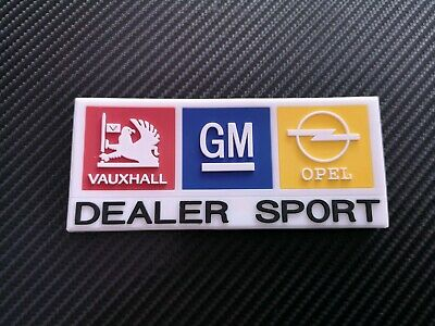 Opel / Vauxhall Dealer Sport Fridge Magnet