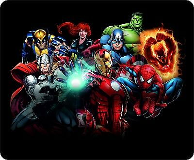 Marvel Heroes Full Colour Mouse Mat