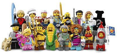 Lego Minifigures  serie 17 ( 71018 ) - Choose Your Figure - Au choix